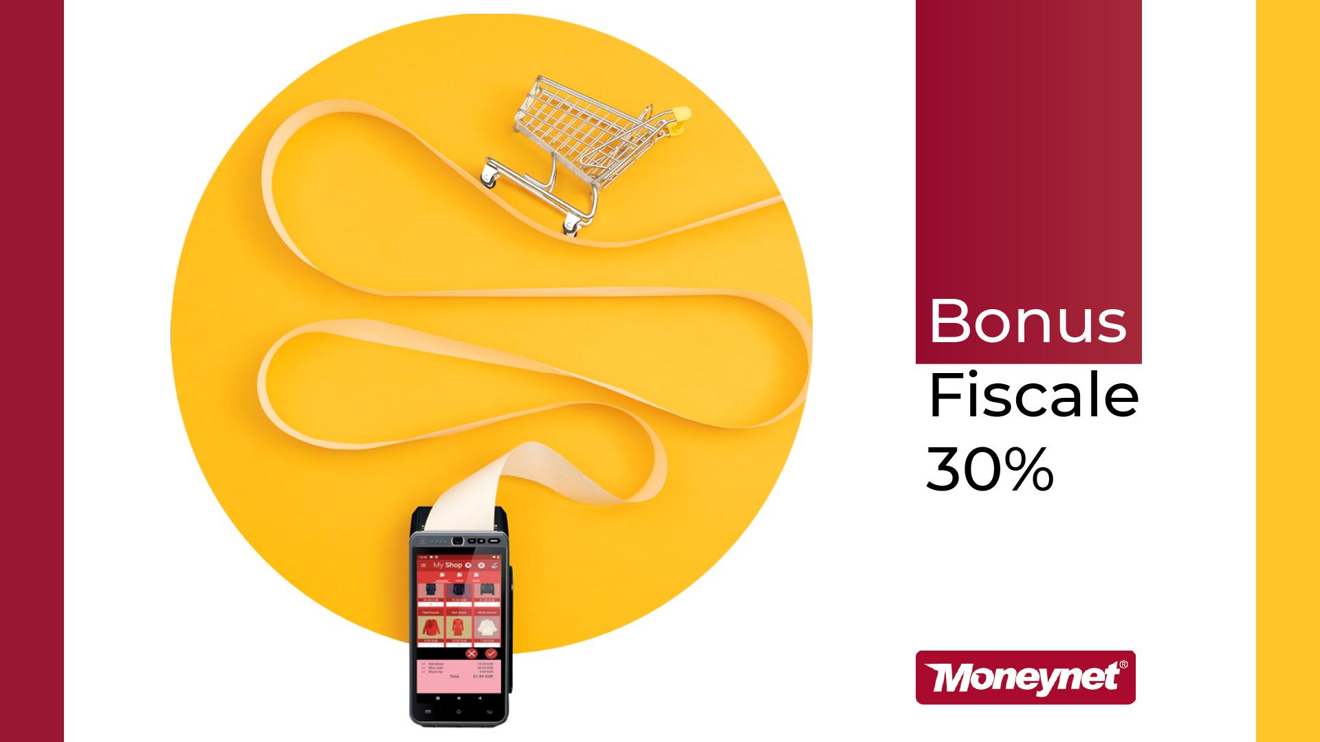 Bonus fiscale 30% sui pagamenti elettronici